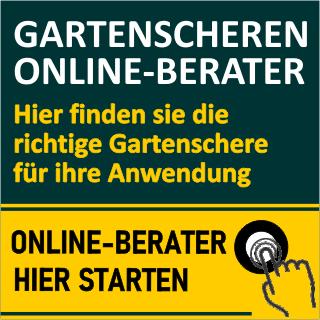 Gartenscheren-Online-Berater