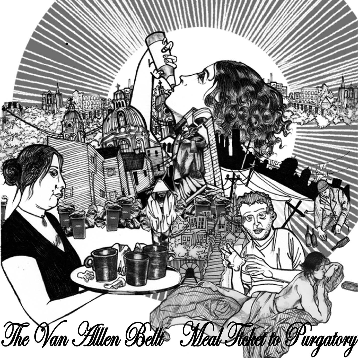 Van Allen Belt - Meal Ticket to Purgatory
