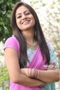 Cute Aksha in Saree