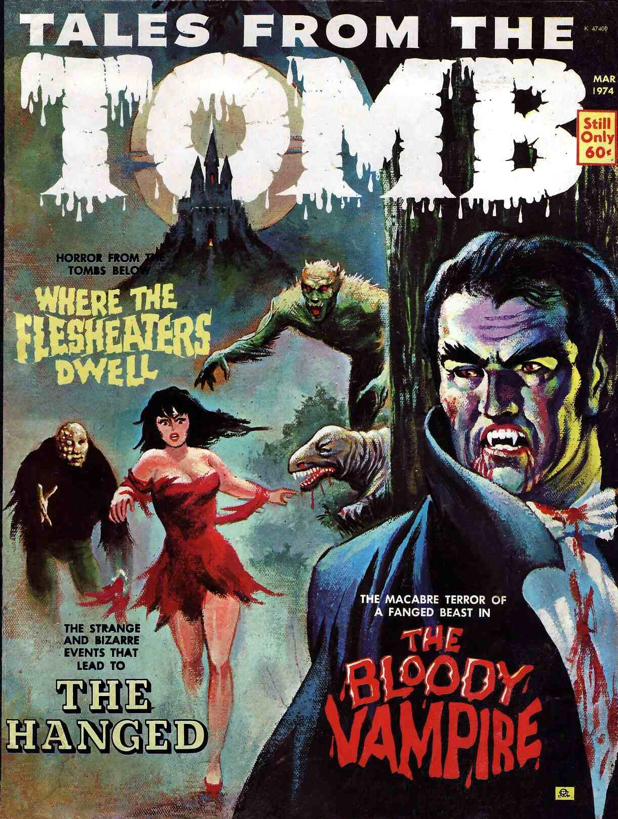 Tales from the Tomb - Vol. 6 #2 (Eerie Publications, 1974)