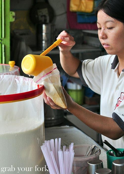 ipoh fresh ginger soy milk