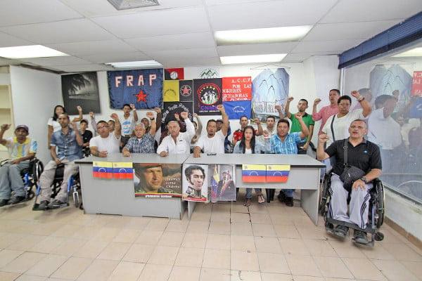 Los dirigentes hacen un llamdo al pueblo revolucionario a no caer en provocaciones