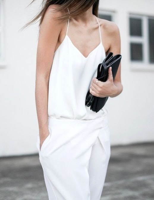 Le Fashion Blog Three Minimal White Looks Spring Summer Style Via Modern Legacy Camilla And Marc Cami Cross Front Draped Pants Black Clutch Bag Blogger Inspiration photo Le-Fashion-Blog-Three-Minimal-White-Looks-Spring-Summer-Style-Via-Modern-Legacy.jpeg