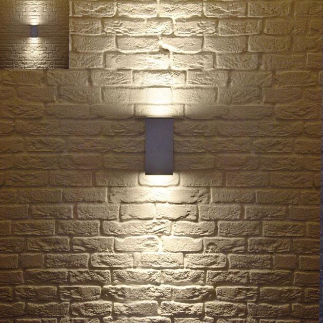 Big Theo Up-Down Outdoor Wall Light - modern - outdoor lighting