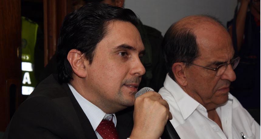 Me voy con la satisfacción de la gestión cumplida: Carlos José Holguín