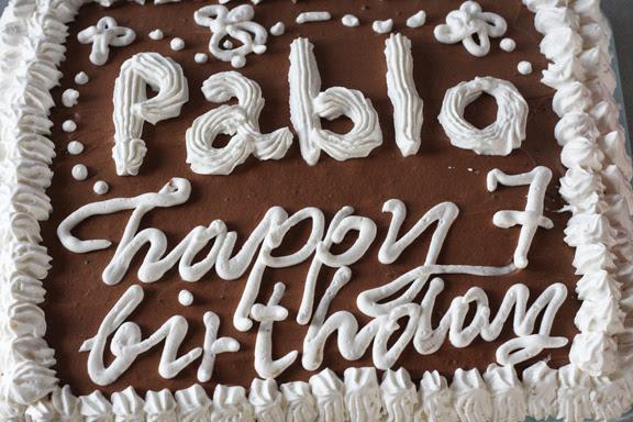 Pablo 7th birthday