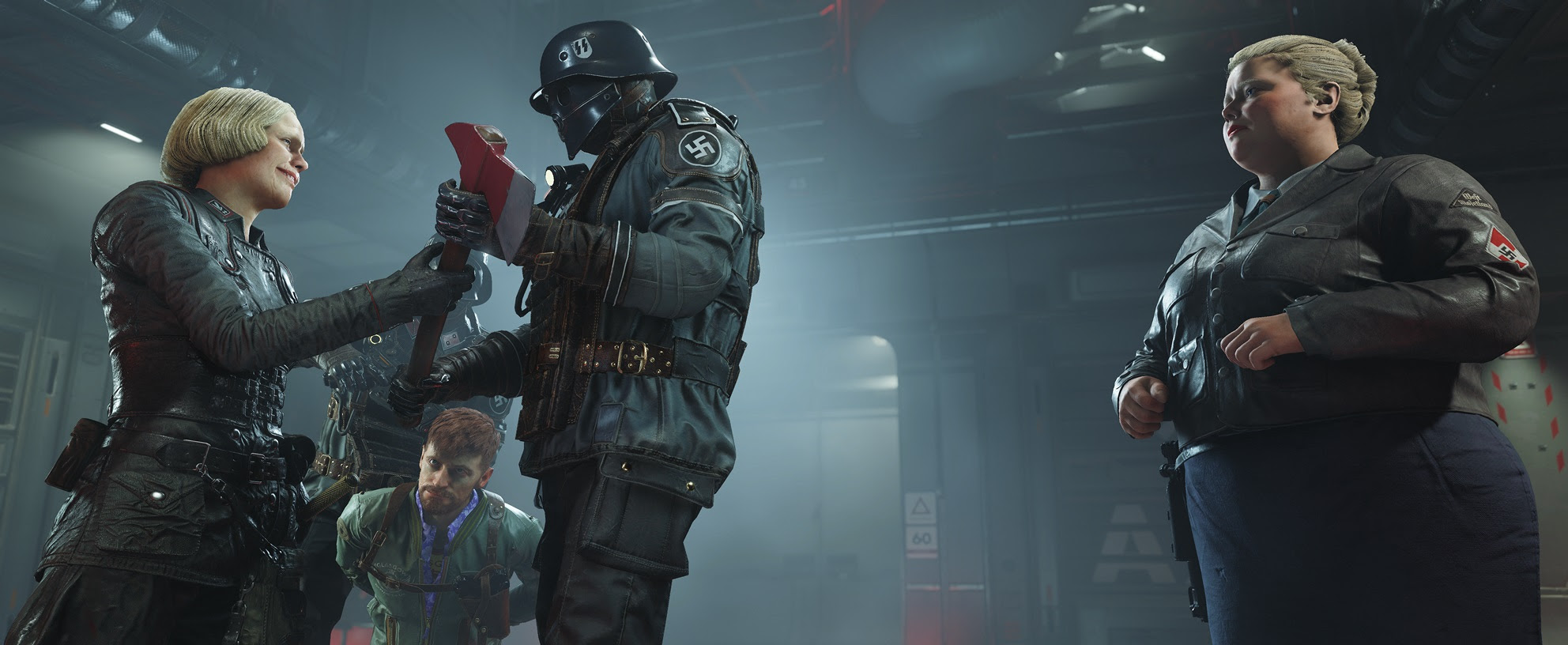 Wolfenstein II: The New Colossus really doesn't want you to eat the chocolate screenshot