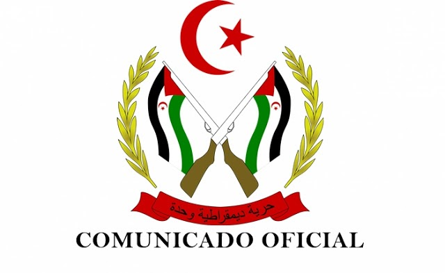 Comunicado oficial del Gobierno Saharaui
