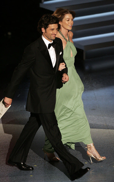 Ellen Pompeo And Patrick Dempsey Photos Photos 57th Annual Emmy