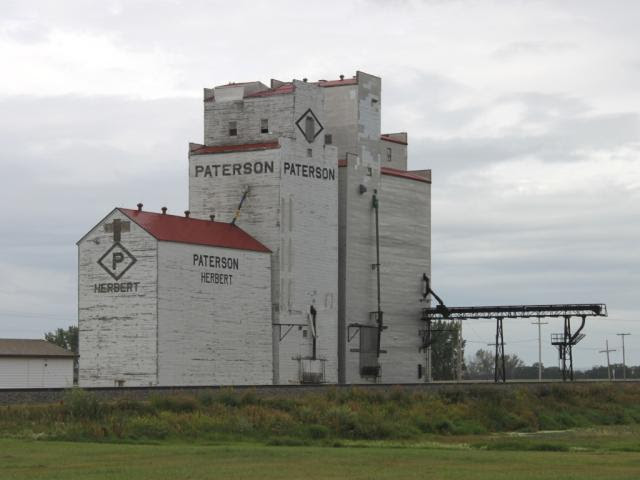 Grain elevator at Herbert, Saskatchewan