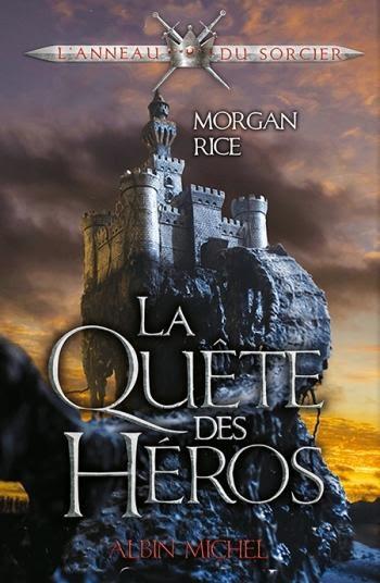 Couverture L'anneau du sorcier, tome 1 : La quête des Heros