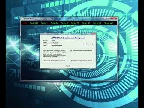 Review EPSON RESET รุ่นรำรวย 2559 V.3.0.0