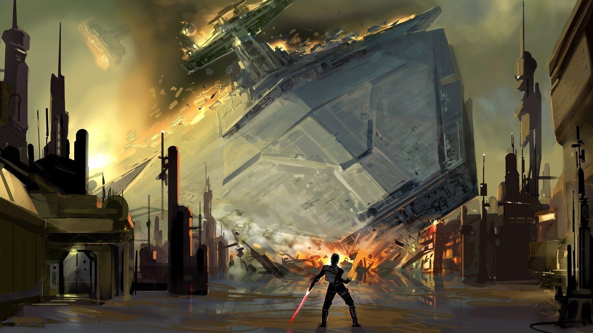 Star Wars Art Wallpaper 77 Images