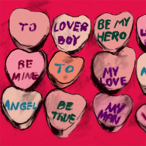 classic valentines day icon