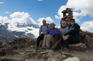 Mike, Mary, John, Lisa: Fairview summit