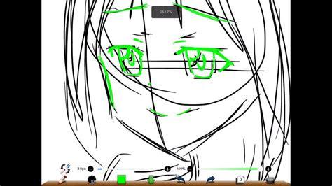 anime drawing  ibispaint  youtube