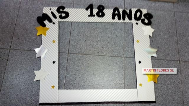 Cartel Photocall Mis 18 Anos Disfraces Ninos Baratos Sevilla