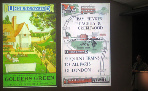Golders Green posters