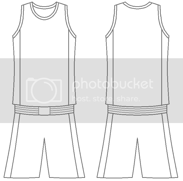 blank basketball jersey templates - Pairs and Spares