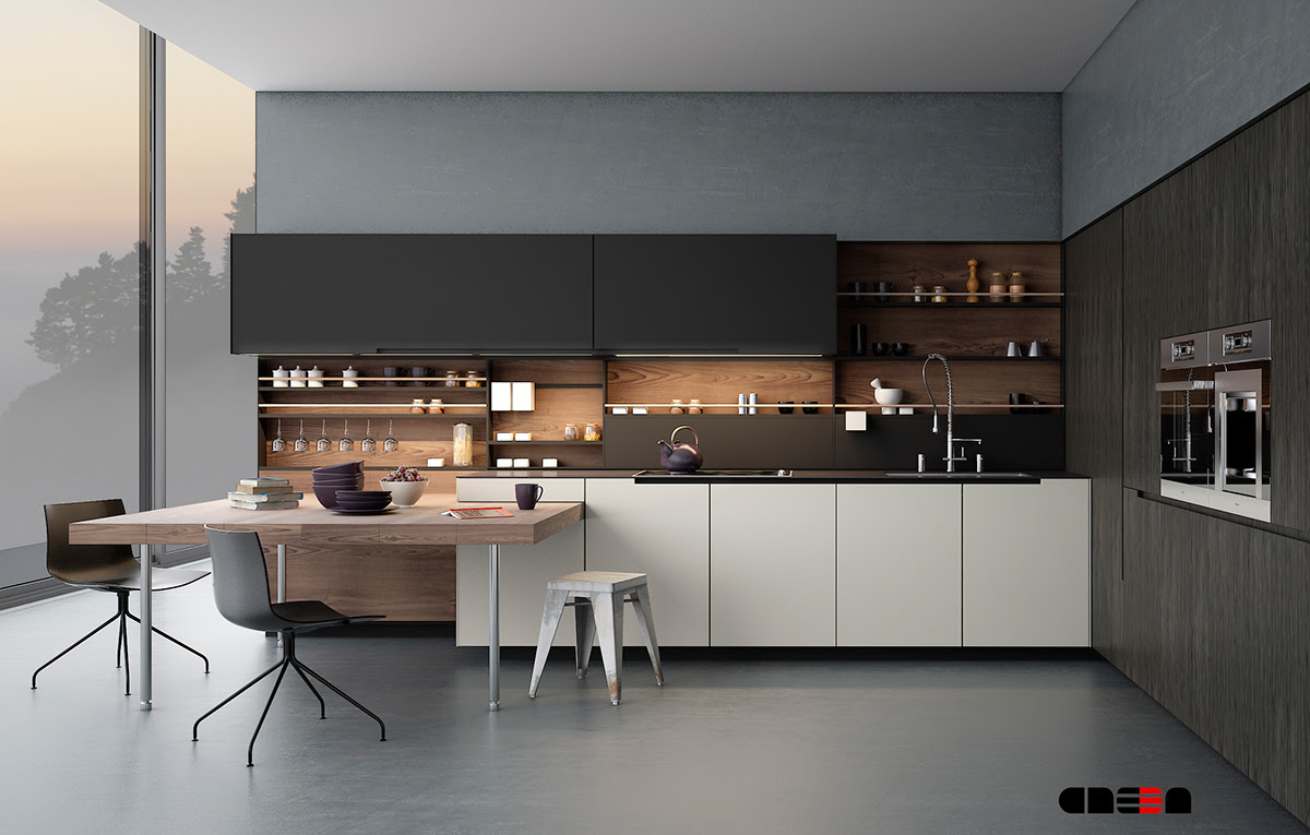 Modern Kitchen Design Prioritizes Efficiency and ...