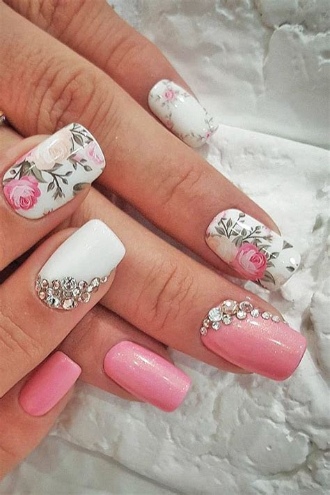 25  best ideas about Wedding Nails Art on Pinterest