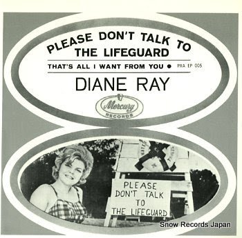 RAY, DIANE please don't talk to the lifeguard