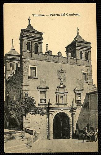 Puerta del Cambrón. Foto J. Roig 1925