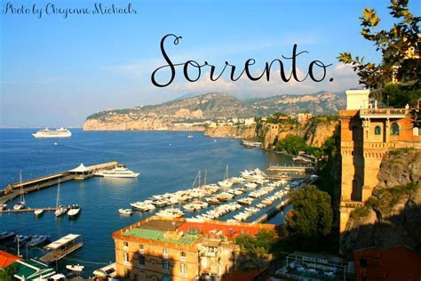 Sorrento/Capri: The Land of Lemons and Lorenzo   Julie