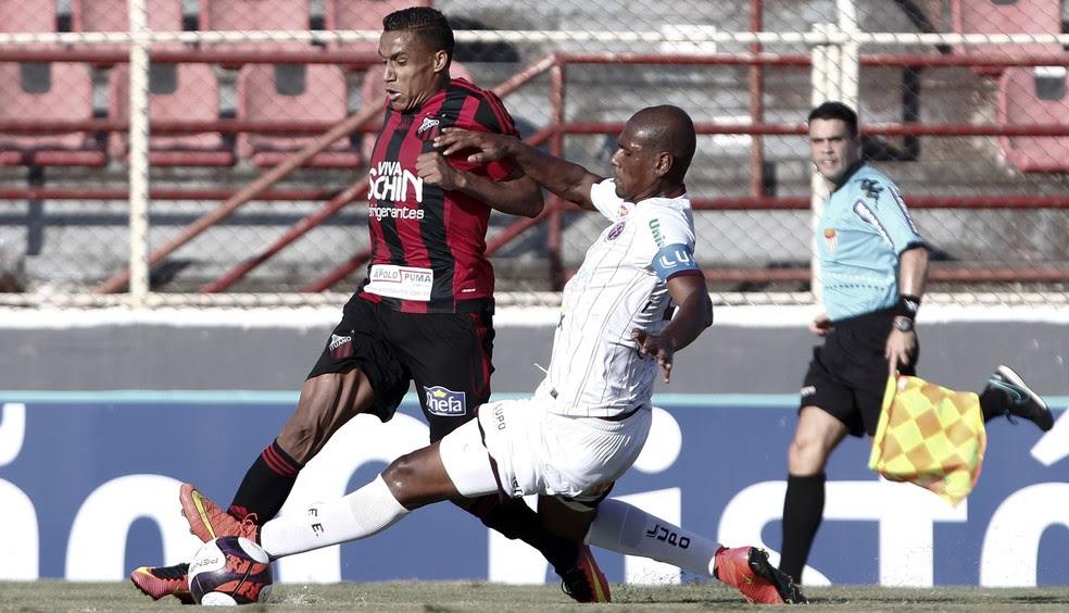 Arnaldo em partida do Ituano contra a Ferroviária pelo Campeonato Paulista  (Foto: Miguel Schincariol / ituano FC)