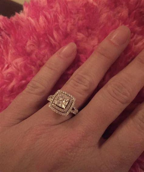 Shane Co. Beautiful Engagement Ring   I Do Now I Don't