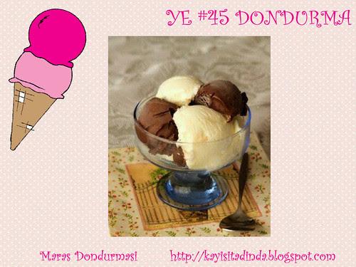 Maras Dondurmasi - Kayisi Tadinda