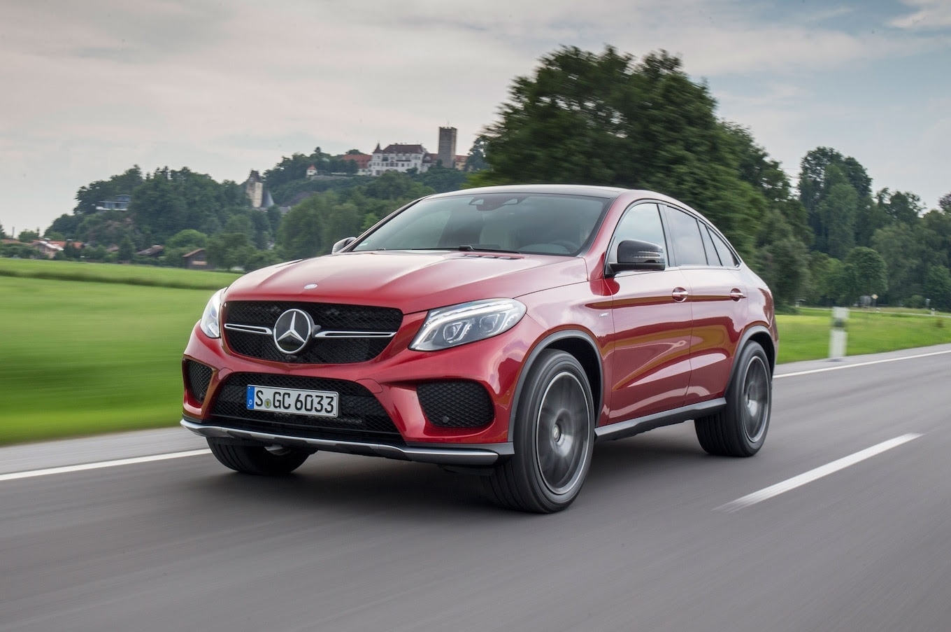 2016 Mercedes-Benz GLE Coupe First Drive Review - Motor Trend