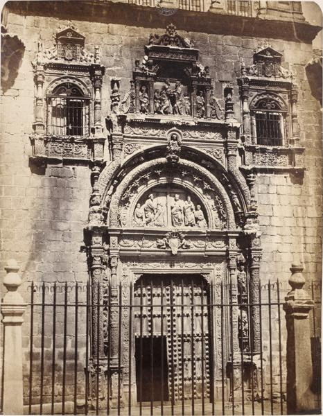 Museo de Santa Cruz en 1858. Fotografía de Charles Clifford. © Victoria and Albert Museum, London