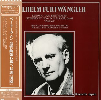 FURTWANGLER, WILHELM beethoven; symphony no.6 in f major, op.68 pastoral