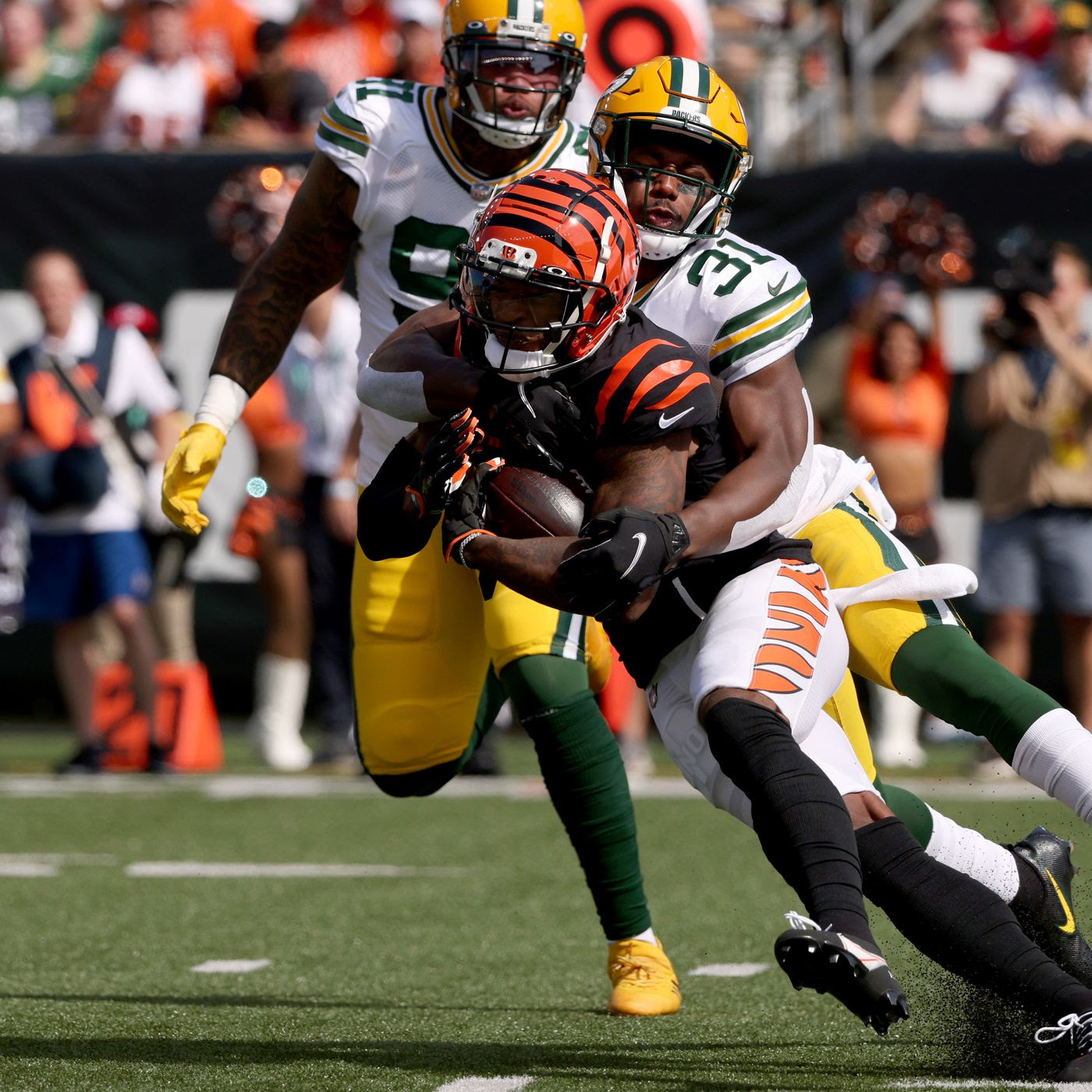 Ja'Marr Chase is unguardable vs. man coverage; wins NFL Rookie of the Week award