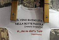 La maglietta di «Napolimania»