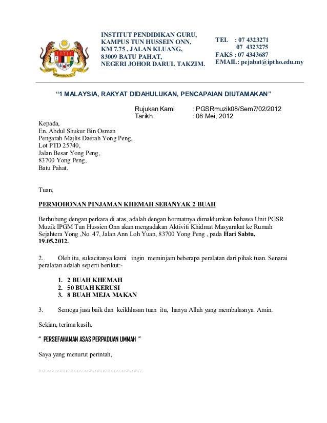 Surat menyurat psk 3104 khidmat masyarakat