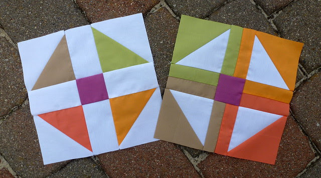 Vice Versa BOM January 2 blocks rectangle