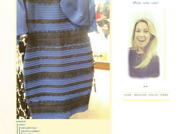 Azul e preto ou branco e dourado? Vestido polêmico 'quebra' a internet