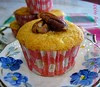 APPLE AND PECAN MUFFIN