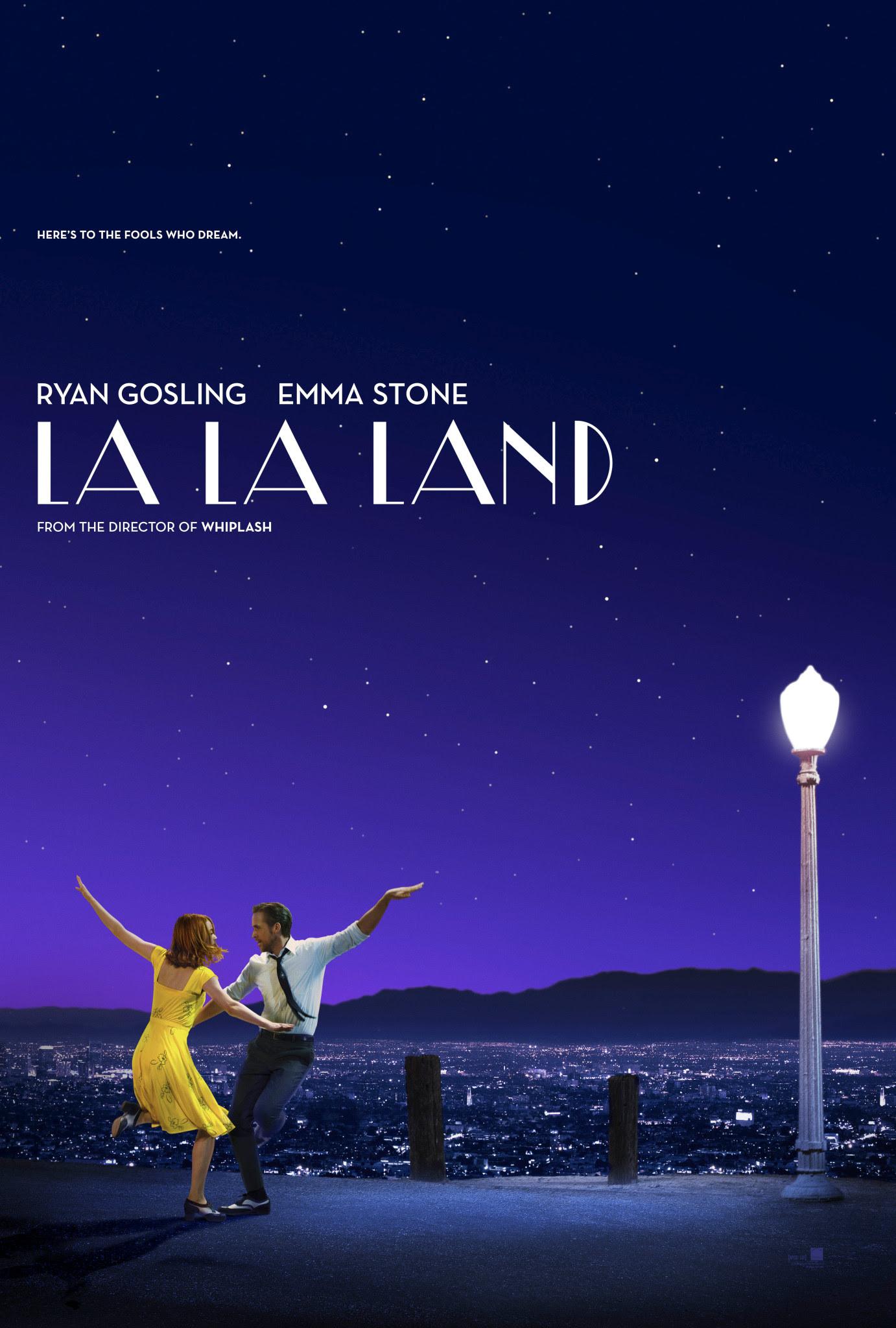 Resultado de imagen de la la land poster