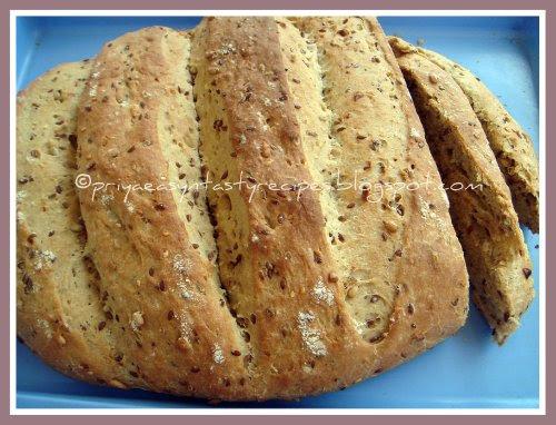 Multiseeds bread