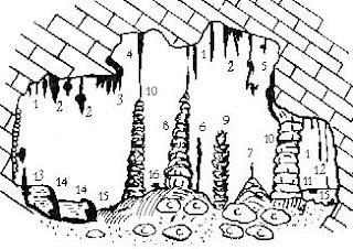 Водные хемогенные отложения карстовых пещер (по К.А. Горбуновой)