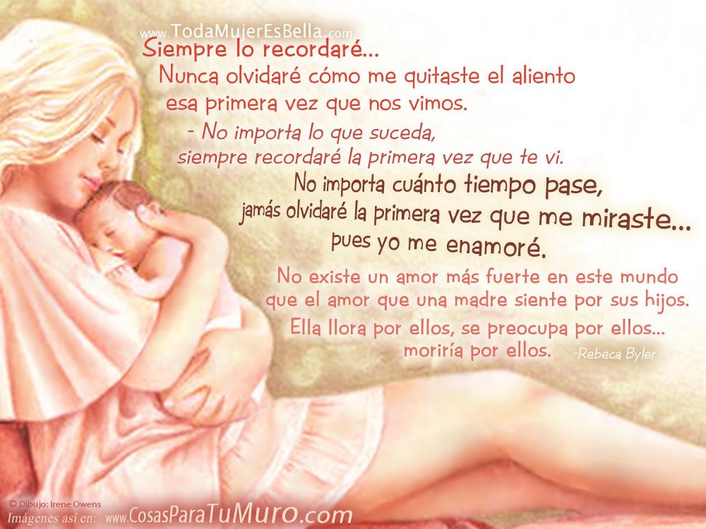 El Amor De Madre Es Asi