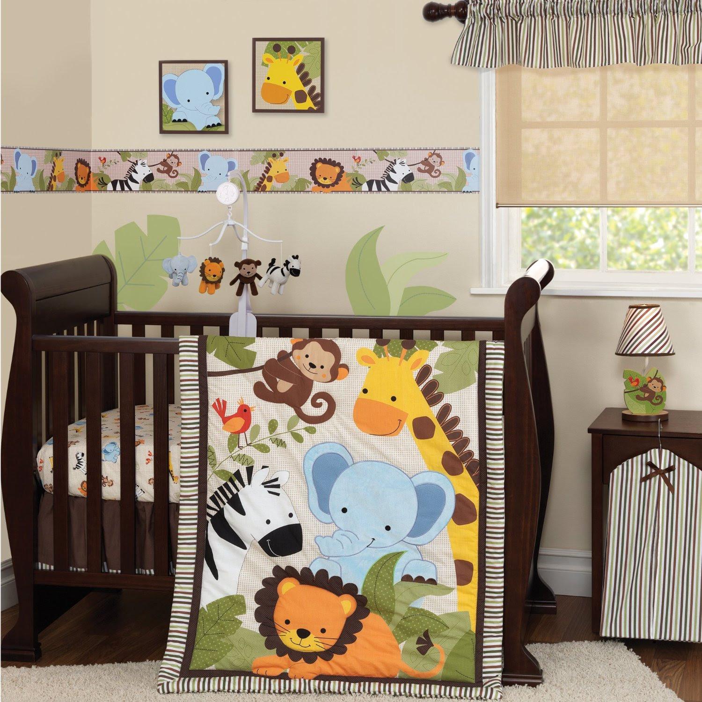 Bedtime Originals Baby Bedding Jungle Buddies - Baby Bedding and