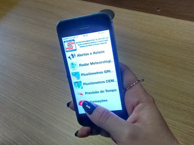App pode ser utilizado em todas as plataformas (Foto: Bruno Rodrigues/G1)