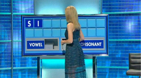 Rachel Riley dress Countdown
