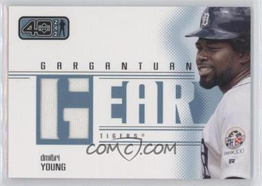 2002 Upper Deck 40-Man Gargantuan Gear #GDY - Dmitri Young - Courtesy of COMC.com
