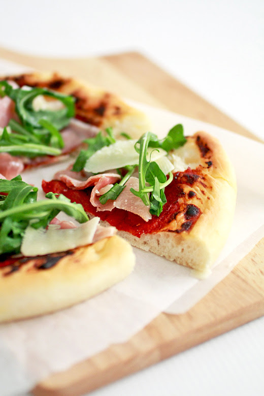 Parma Ham & Rocket Pizza