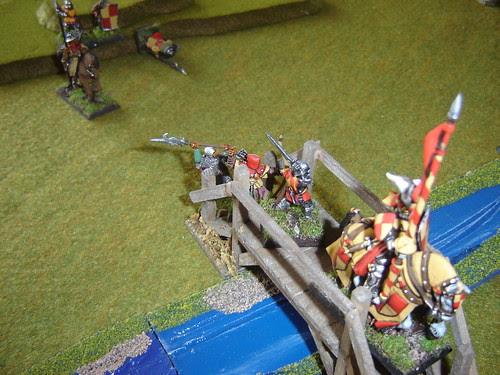 William Wittelsbach hurries across footbridge